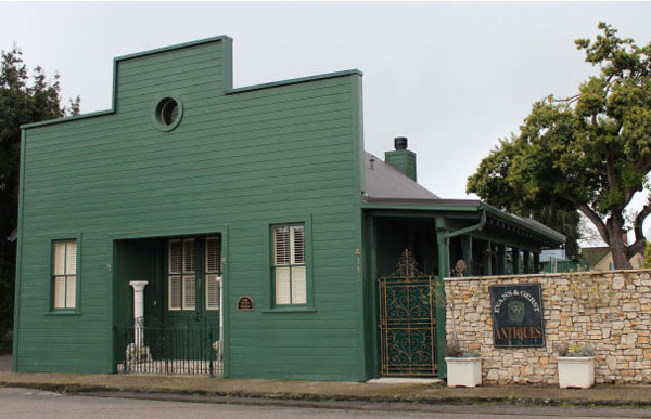 Evans and Gerst Antiques building