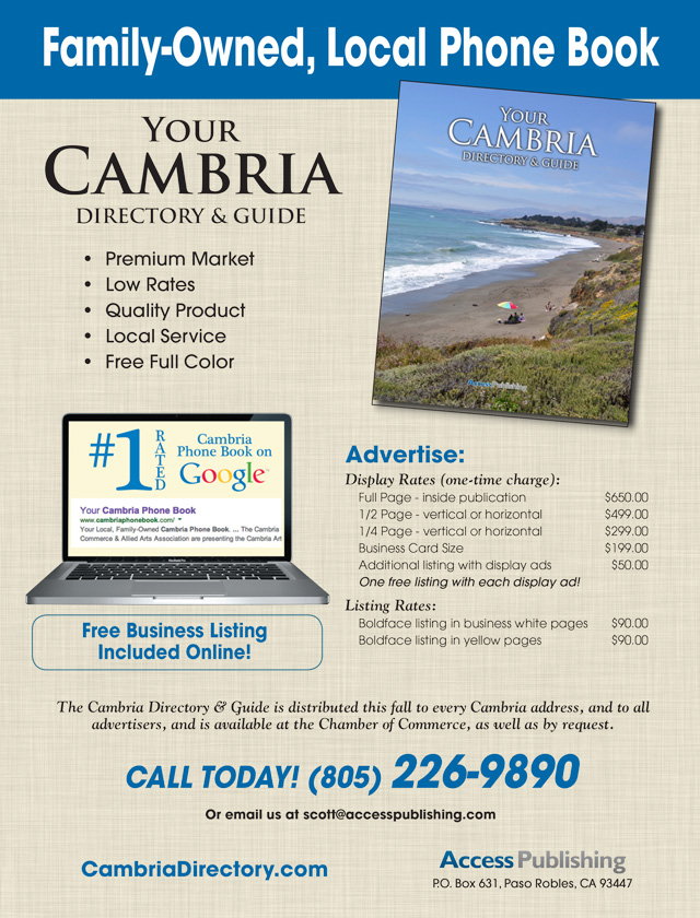 Businesses: Reach new customers in Cambria