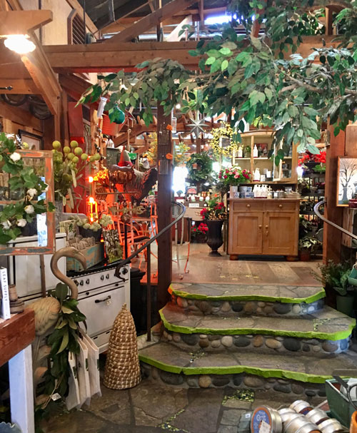 The Garden Shed in Cambria is a lovely place for the community to unwind