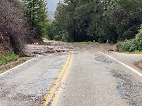 Update: 60 areas of Highway 1 damaged from storms, Caltrans says