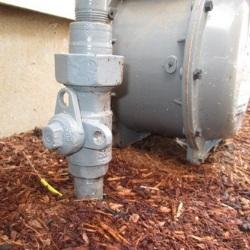 gas meter shutoff