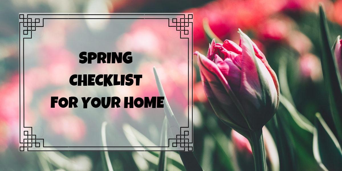 Springtime Checklist