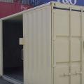 Sliding Door with Lock Box