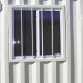 Window with Optional Security Bars