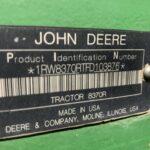 2015 John Deere 8370R