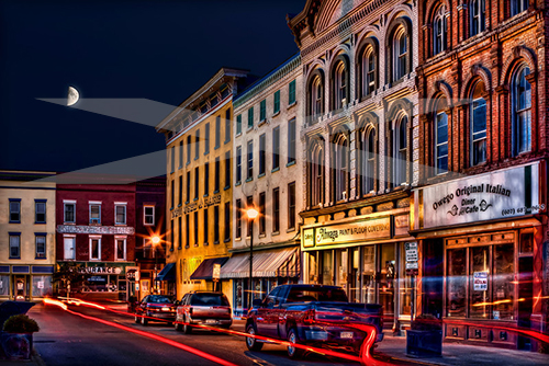 Lake Street, Owego, New York