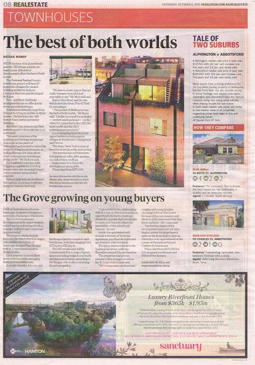 Herald Sun – The best of both worlds..