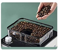 What is a Bean to Cup Coffee Maker? It has a bin for whole beans and a grinder to automatically grind then brew coffee