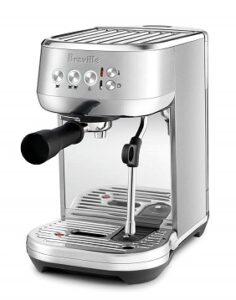 Breville Bambino Plus BES500BS Front Angle