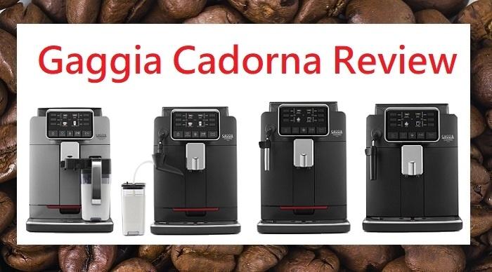 Gaggia Cadorna Review