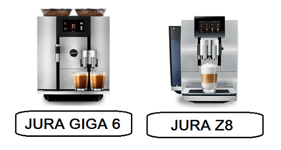 2020 JURA Z8 Review and comparison to the JURA GIGA 6