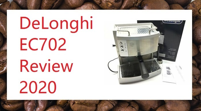 DeLonghi EC702 Product Image for 2020 Review