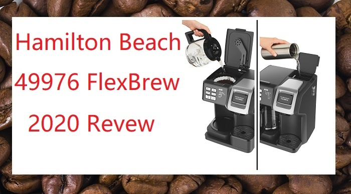 hamilton beach flexbrew 2 way coffee maker model 49976