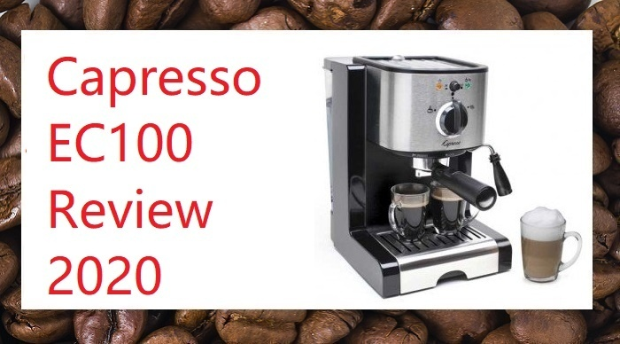 Capresso EC100 Review for 2020. Product Detail With Side Angle