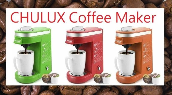 CHULUX coffee maker review single serve QF-CM811