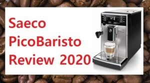 Saeco PicoBaristo Review Shown With Cappuccino