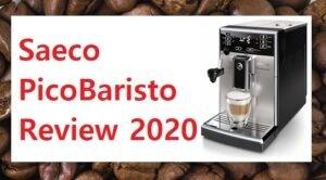 Saeco PicoBaristo Review Shown With Cappuccino