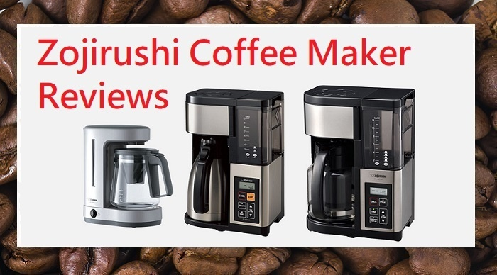 zojirushi coffee maker review, 5 cup Zutto, 10 cup thermal and 12 cup