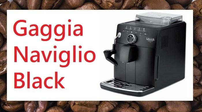 Gaggia Naviglio Review Gaggia Black RI8749/47
