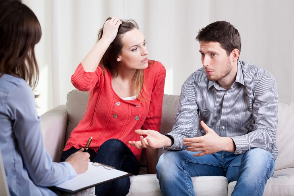 Marriage during the psychotherapy
