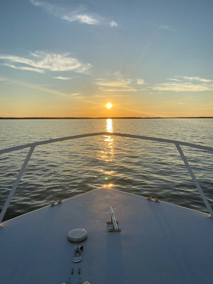Beautiful Evening For a Boat Ride