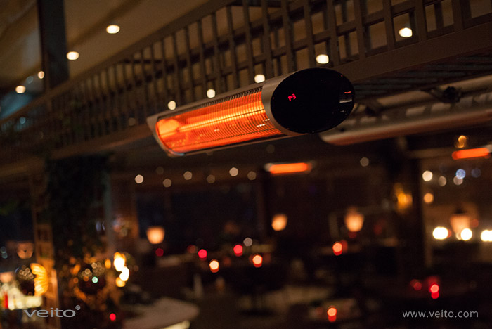 Veito Infrared Heaters for Commercial Use