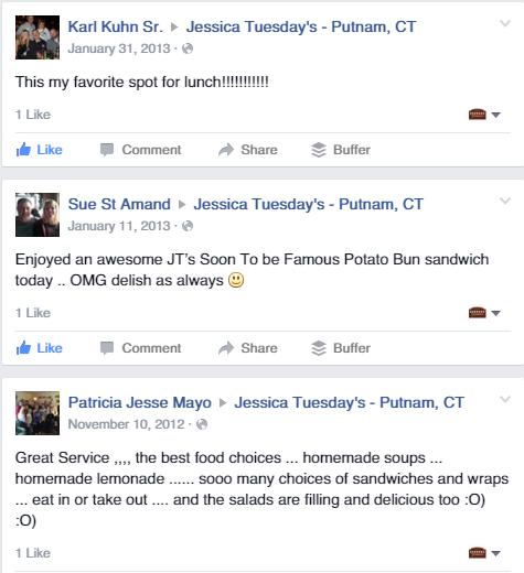 Jessica Tuesday's Reviews