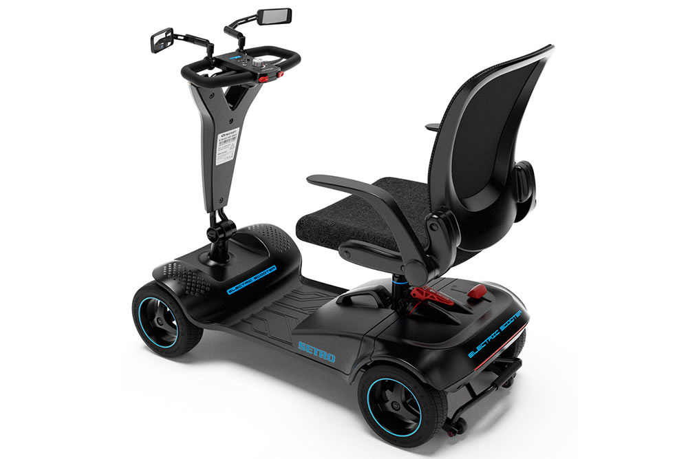 4 wheel electric mobility scooter