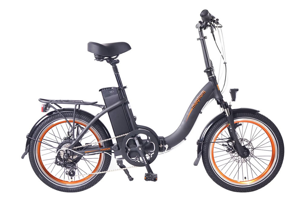 Magnum classic electric bicycle low step