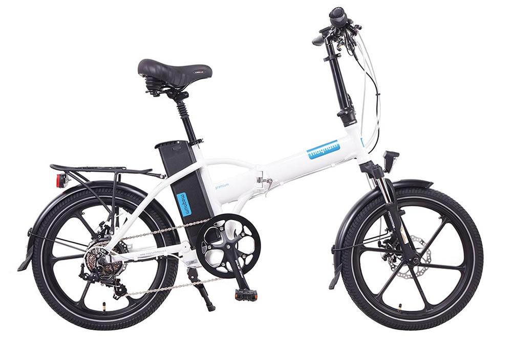 Magnum premium electric bicycle high step