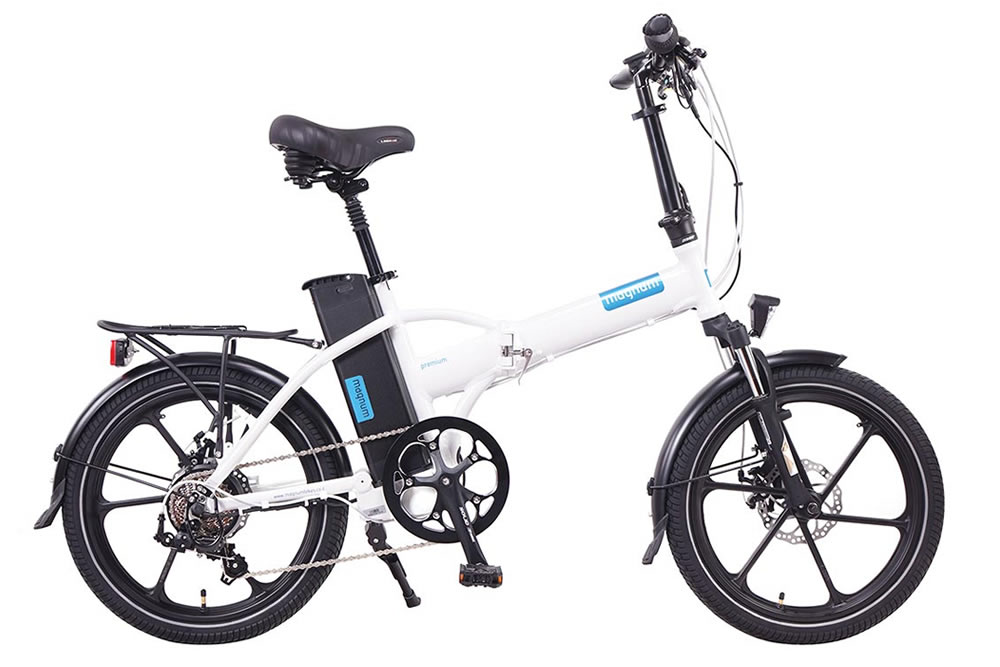 Magnum premium electric bicycle high step