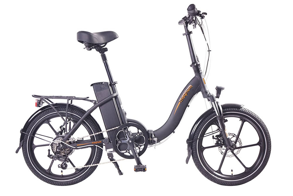 Magnum premium electric bicycle low step