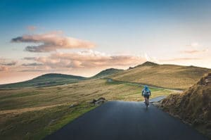 Bicycling through Montana