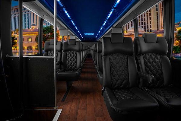 THINKLimo Premium Mini Coach Interior