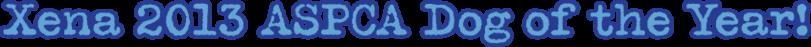 Xena The Warrior Puppy Logo