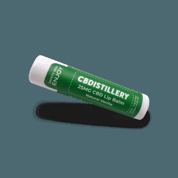 CBDistillery CBD Lip Balm Product Review