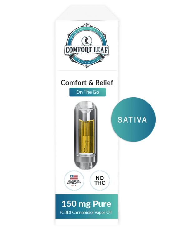 Comfort Leaf CBD + Strawberry Lemonade Sativa Vape Cartridge Product Review