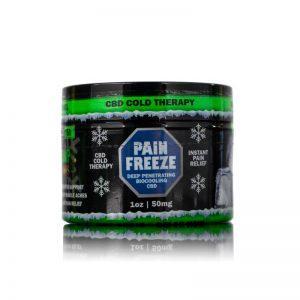 Hemp Bombs Pain Freeze CBD Topical Rub Product Review
