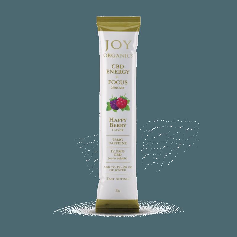 Joy Organics CBD Energy + Focus Happy Berry Drink Mix Product Review