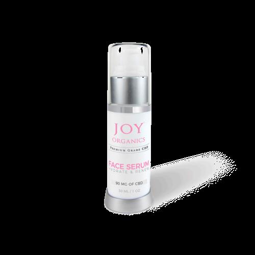 Joy Organics CBD Face Serum Product Review