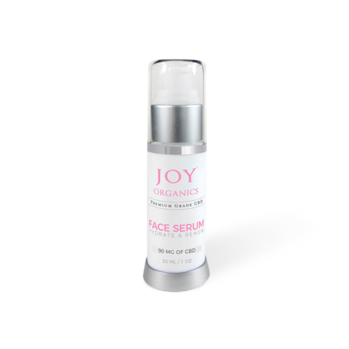 Joy Organics CBD Face Serum Product Review
