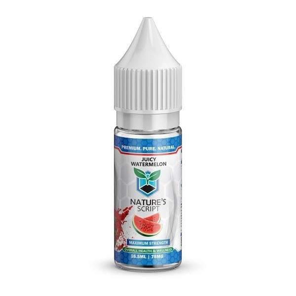 Nature's Script CBD Vape E-Liquid Product Review
