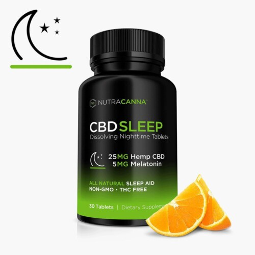 NutraCanna CBD Sleep Tablets Product Review