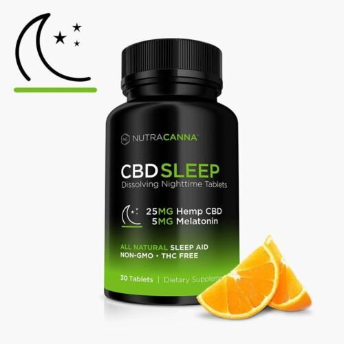NutraCanna CBD Sleep Tablets Product Review