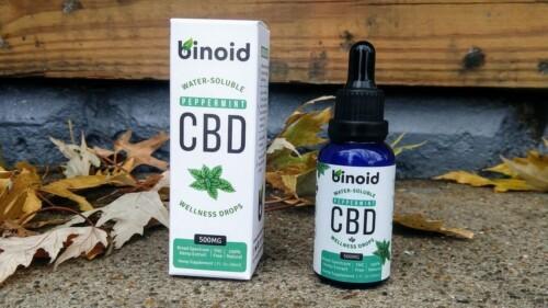 binoid cbd wellness drops review peppermint