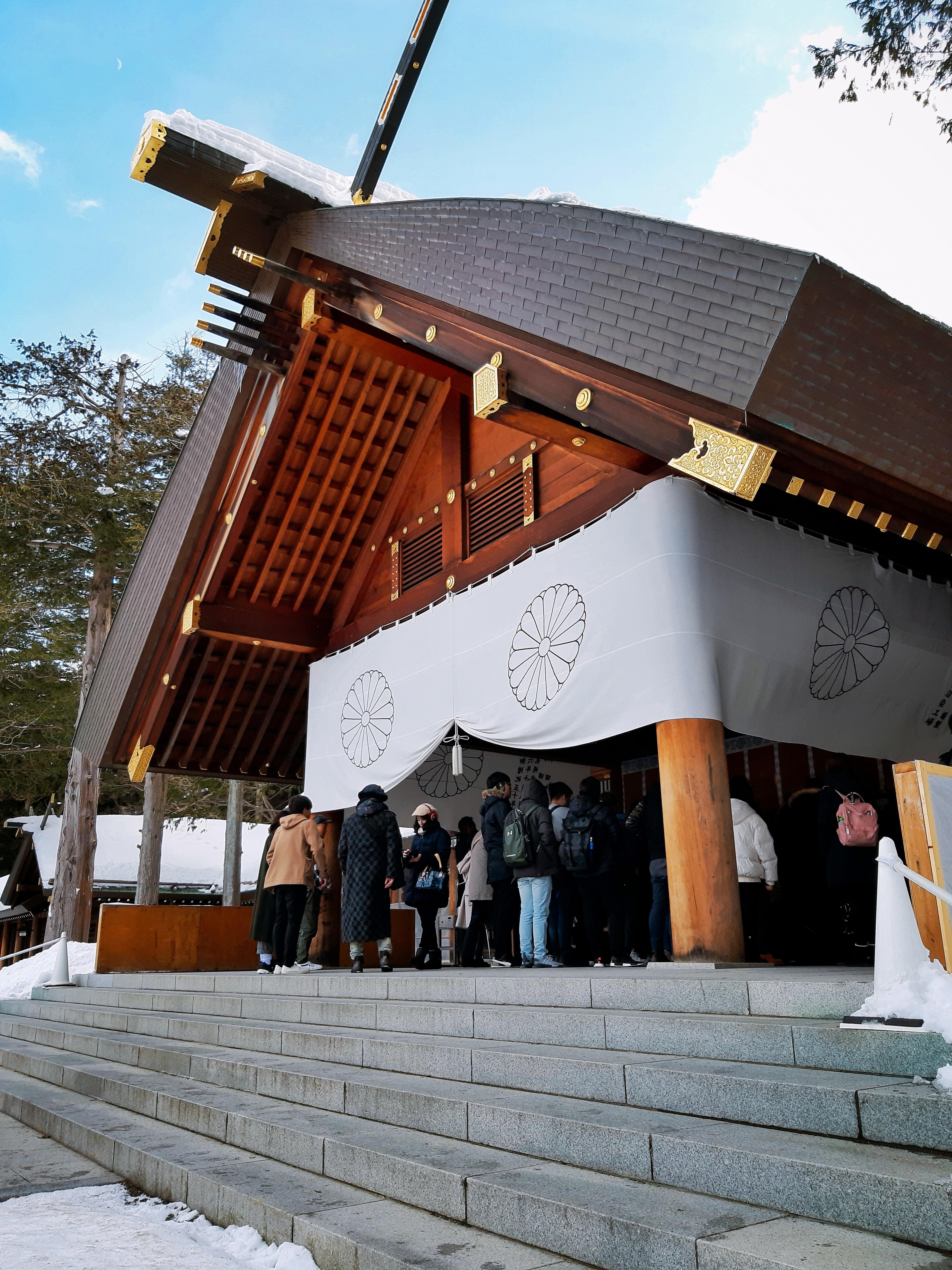 2019北海道(4)-自助遊x北海道神宮x一日散策之胡鬧的情侶檔
