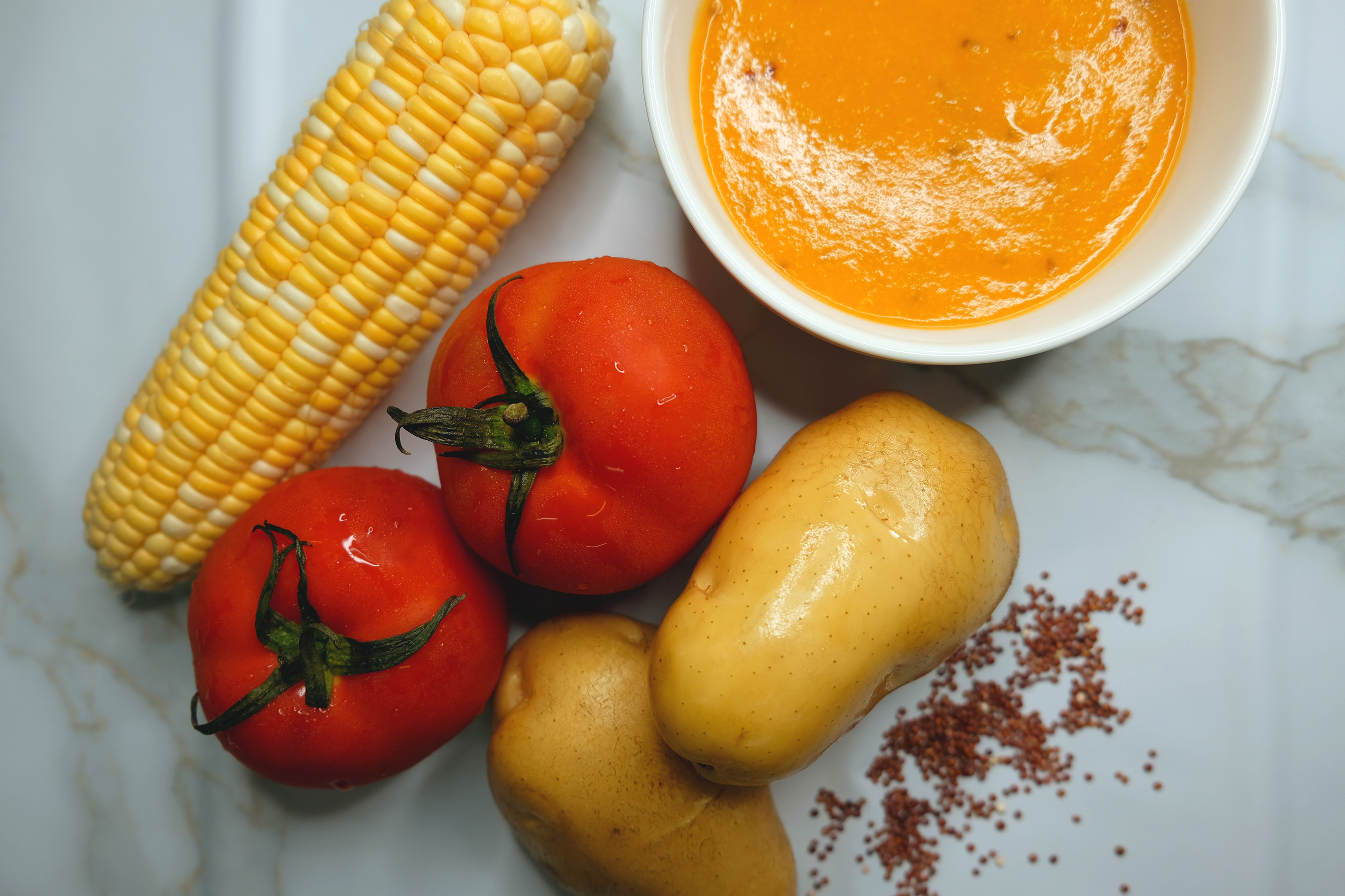 KOL Series: Anti-Aging Guardian (TOMATO SWEET CORN QUINOA POTATO SOUP)