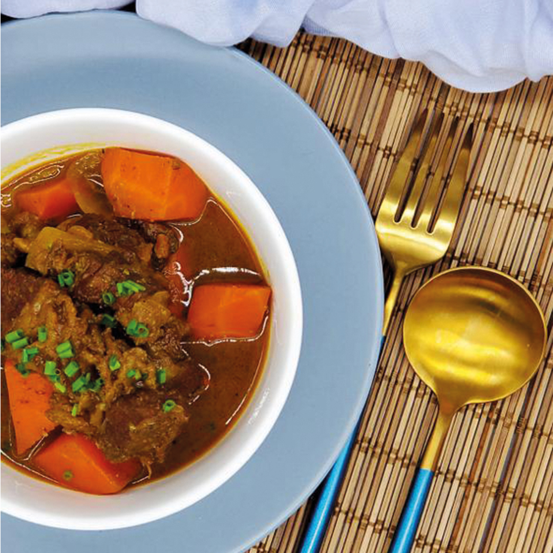Curry beef brisket (New Product)