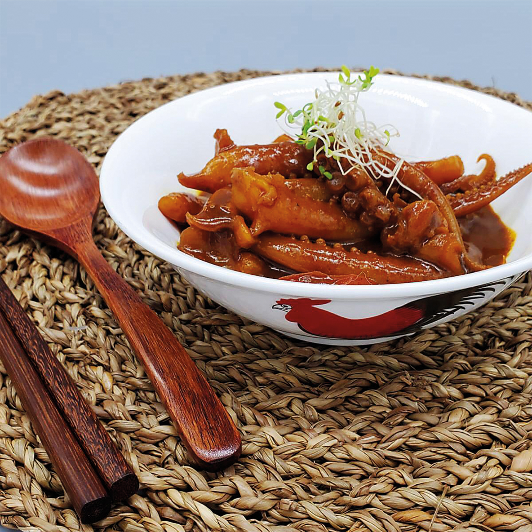 Hong Kong Style Curry Squid (New Product)