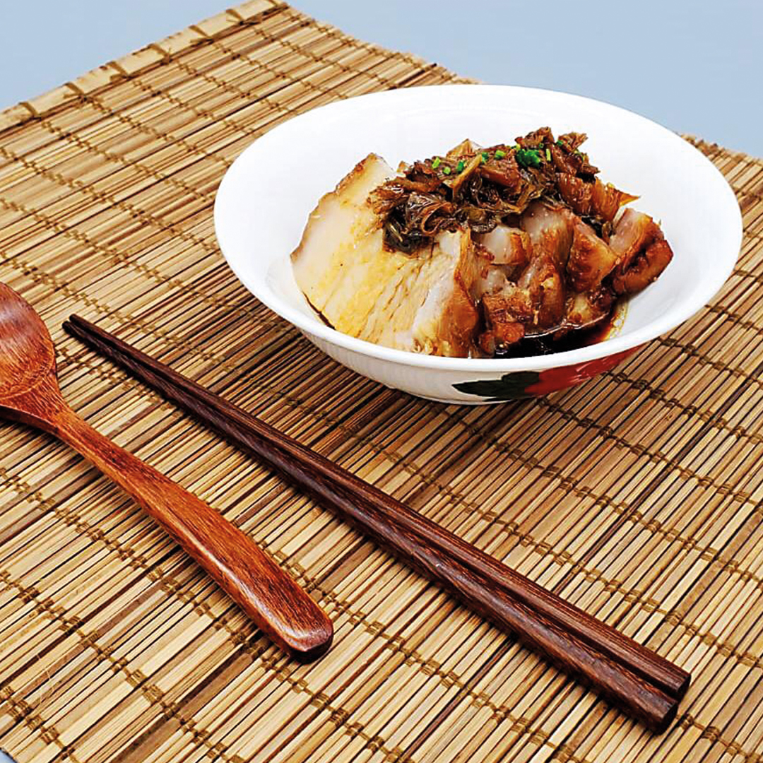 Hakka Style Steamed Pork Belly with Meigan Cai (New Product)